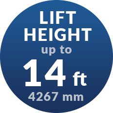 UpTo 14ft of Lift Height in Porch Lift and Wheelchair Lift