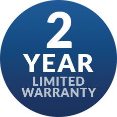 2 Years Limited Warranty on Porch Lift and Wheelchair Lift