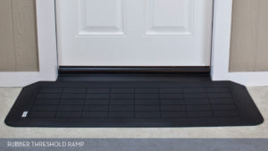 Slip Resistant Rubber Threshold Ramp