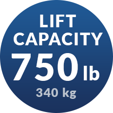 Lift Capacity of 750 Lb in Porch Lift and Wheelchair Lift