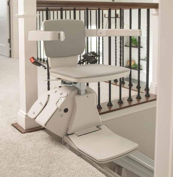 Elan Straight Rail Stairlift SRE-3050 at EJ Medical Supply