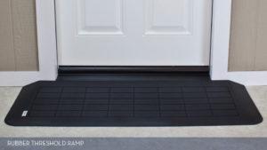 Slip Resistant Rubber Threshold Ramp at EJ Medical Supply