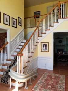 Stairlifts installation at home in Philadelphia, PA
