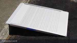 Aluminum Threshold Ramp for Outdoor Use