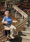 Outdoor Elite Custom Curved Rail Stairlift in Philadelphia